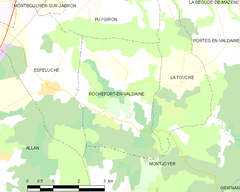 Map commune FR insee code 26272.png