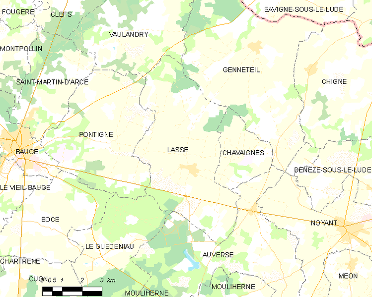 Archivo:Map commune FR insee code 49173.png