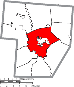 Union Township, Fayette County, Ohio - Image: Map of Fayette County Ohio Highlighting Union Township