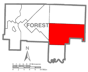 FileMap of Jenks Township Forest County Pennsylvania