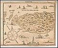 Map of Malta by Zacharias Heyns, Le Miroir du Monde, ou, Epitome du Theatre d'Abraham Ortelius, Amsterdam 1598.jpg