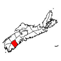 Map of Nova Scotia highlighting Queens County.png