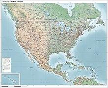Ameria Canada Map North America   Wikipedia