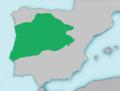 Mapa Barbus bocagei.png