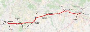 Seregno – Ponte San Pietro railway line