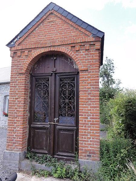 Marbaix (Nord, Fr) chapelle St.Roch 1847, D962