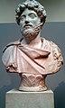 Marble Bust of the Emperor Marcus Aurelius (AD 161-180) in a Fringed Cloak - British Museum.jpg