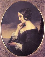 Portrait de Marie de Flavigny, comtesse d'Agoult
