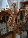 Marienstiftskirche Lich Kanzel Leo der Große 04.JPG