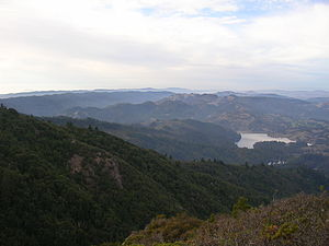 Mount Tamalpais - The north side of Mount Tamalpais