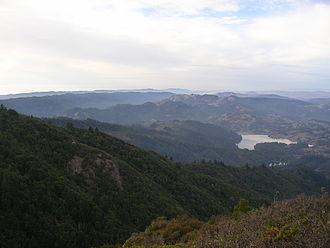 Mount Tamalpais - The north side of Mount Tamalpais