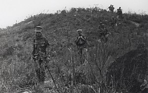 Operation Oklahoma Hills - Image: Marines with Vietnamese Scout, 1969 (15179482662)