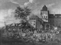 Market Square in a Town (Mathys Schoevaerdts) - Nationalmuseum - 17358.tif