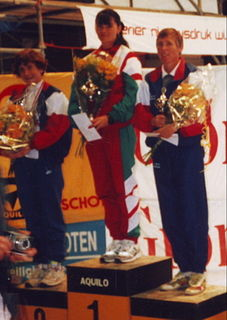 Márta Vass Hungarian long-distance runner, marathon runner and teacher