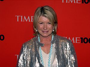 Martha Stewart - Stewart at the 2010 Time 100 Gala