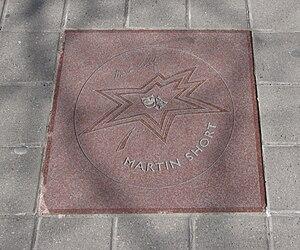 Martin Short - Short's star on Canada's Walk of Fame
