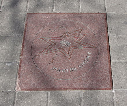 Short's star on Canada's Walk of Fame Martin Short star on Walk of Fame.jpg