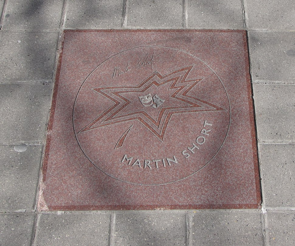 Martin Short star on Walk of Fame