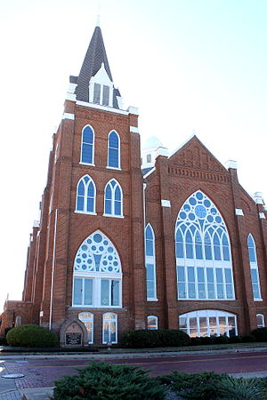Marvin Methodist Episcopal Church, South - Image: Marvin Methodist Church 1