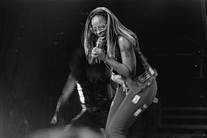 Mary J. Blige - Blige in Hamburg, Germany 2000