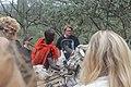 Masai guide showing animal skeleton.jpg