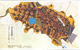 Mashhad - Comprehensive planning of Mashhad in 1974