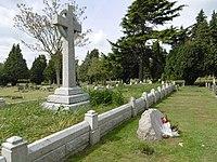 Denkmal und Massengrab in Faversham