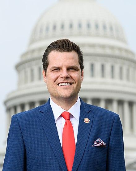 Matt Gaetz%2C official portrait%2C 116th Congress.
