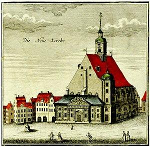 St. Matthew, Leipzig - Neukirche in 1749