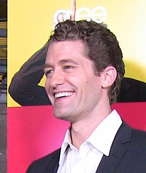 English: Actor Matthew Morrison at premiere pa...