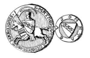 Matthias II, Duke of Lorraine - Seal of Matthias II.