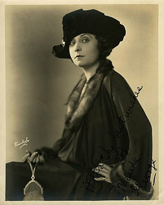Maude George - Image: Maude George by Freulich