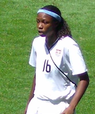 Maya Hayes - Hayes at the 2010 FIFA U-20 Women's World Cup