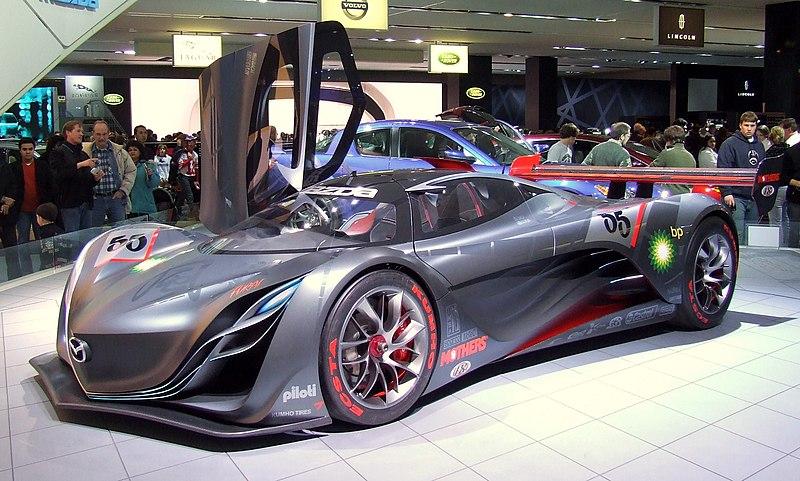 Mazda Furai Concept Race Car Destroyed By Top Gear - Top gear car show