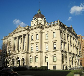 McLean County, Illinois - Image: Mc Lean County Courthouse and Square (7436726814)