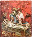 Medio reno o westfalia, altare del medio reno, 1410 ca., verso 08 sepoltura.jpg