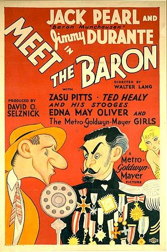 Meet the Baron - Image: Meet the Baron poster