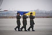 Meeting Bodies of Ukrainian Citizens from PS752 in Boryspil International Airport 20.jpg