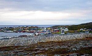 Gamvik - View of Mehamn