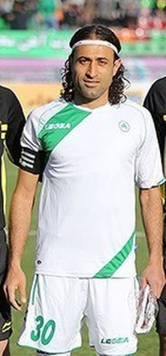Zob Ahan Esfahan F.C. - Mehdi Rajabzadeh is the current captain of Zob Ahan
