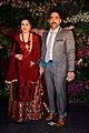 Meher Vij at Anushka Virat- Mumbai reception 2017.jpg