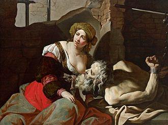 Roman Charity - Roman Charity, by Bernardino Mei