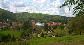 A general view of Meisenthal
