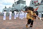 Melenie Savard performs a traditional dance.jpg