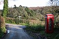 Membury, telephone box at Furley - geograph.org.uk - 287976.jpg