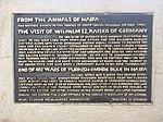 Memorial plate at Wilhelm II obelisk site in Haifa.jpg