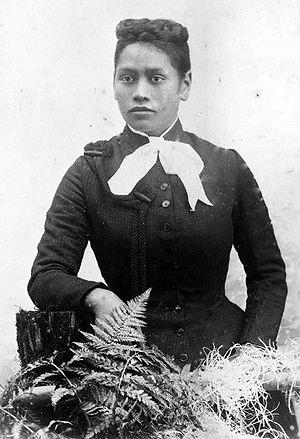 Māori people - Meri Te Tai Mangakāhia, a member of the Kotahitanga movement in the 1890s, who argued that women should have equal voting rights in the Māori Parliament