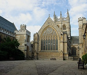 John Selwyn Gilbert - Merton College, Oxford, where Gilbert was a student