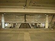 Kunstwerk in metrostation Dijkzigt