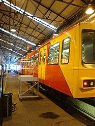Metrocar 4073, Tyne and Wear Metro depot open day, 8 August 2010.jpg